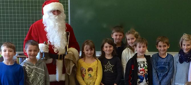 Der Heilige Nikolaus zu Gast in der Flexiblen Eingangsstufe
