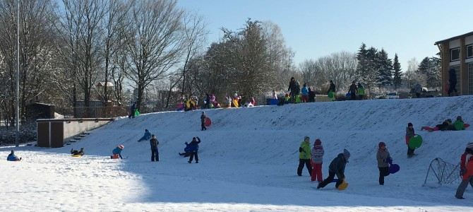 Schneespaß am Wintersporttag