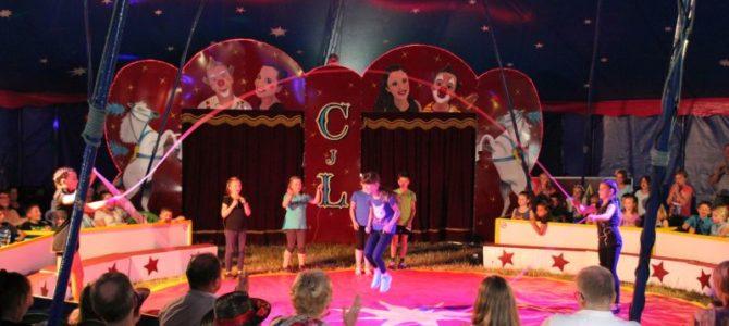Zwei Tage Schul-Zirkus-Fest in Weidhausen