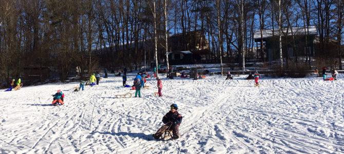 Viel Spaß im Schnee!